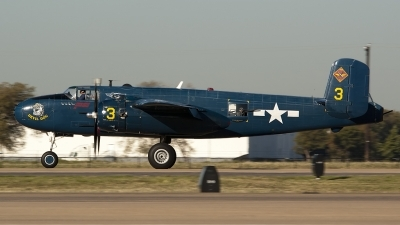 Photo ID 89719 by Brandon Thetford. Private Private North American B 25J Mitchell, N9643C