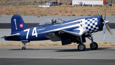Photo ID 90118 by W.A.Kazior. Private Private Goodyear F2G 2 Corsair, N5577N