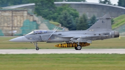 Photo ID 89949 by Zdenek Ziegler. Czech Republic Air Force Saab JAS 39C Gripen, 9244