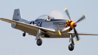 Photo ID 91101 by Niels Roman / VORTEX-images. Private Private North American P 51D Mustang, F AZSB