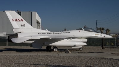 Photo ID 11479 by Tom Gibbons. USA NASA General Dynamics F 16A Fighting Falcon, N816NA