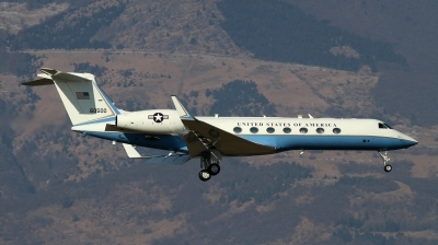 Photo ID 90487 by Giampaolo Tonello. USA Air Force Gulfstream Aerospace G V Gulfstream V C 37B, 06 0500