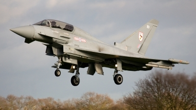 Photo ID 90541 by Jan Eenling. UK Air Force Eurofighter EF 2000 Typhoon T1, ZJ805