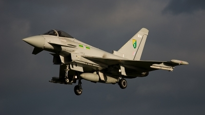 Photo ID 90539 by Jan Eenling. UK Air Force Eurofighter EF 2000 Typhoon FGR4, ZJ924