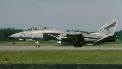 Photo ID 90680 by David F. Brown. USA Navy Grumman F 14D Tomcat, 164351