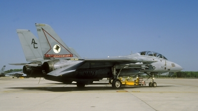 Photo ID 90683 by David F. Brown. USA Navy Grumman F 14A Tomcat, 161855