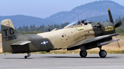 Photo ID 91104 by Aaron C. Rhodes. Private Heritage Flight Museum Douglas AD 4N Skyraider, NX965DA