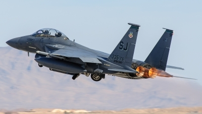 Photo ID 90694 by Mark Munzel. USA Air Force McDonnell Douglas F 15E Strike Eagle, 89 0487