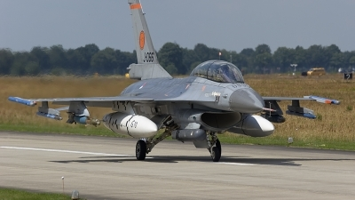 Photo ID 90734 by rob martaré. Netherlands Air Force General Dynamics F 16BM Fighting Falcon, J 066