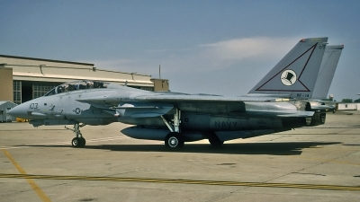 Photo ID 90731 by David F. Brown. USA Navy Grumman F 14A Tomcat, 161858