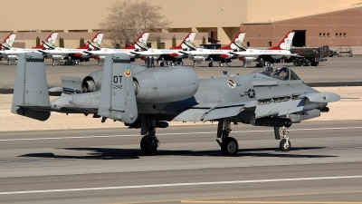 Photo ID 91243 by Peter Boschert. USA Air Force Fairchild A 10C Thunderbolt II, 80 0242