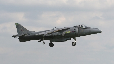 Photo ID 91404 by Barry Swann. UK Air Force British Aerospace Harrier GR9, ZD402