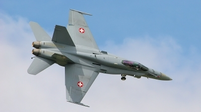 Photo ID 11676 by Tim Felce. Switzerland Air Force McDonnell Douglas F A 18C Hornet, J 5007