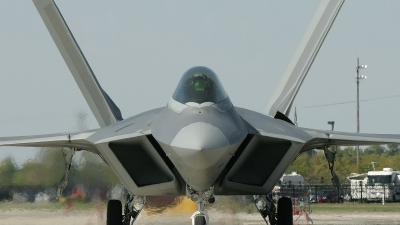 Photo ID 11693 by Christophe Haentjens. USA Air Force Lockheed Martin F 22A Raptor, 05 4094