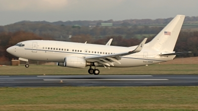 Photo ID 11707 by David Townsend. USA Air Force Boeing C 40C BBJ 737 7CP, 02 0201