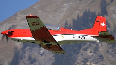 Photo ID 92012 by Andreas Weber. Switzerland Air Force Pilatus NCPC 7 Turbo Trainer, A 939
