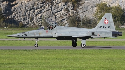Photo ID 92276 by Andreas Weber. Switzerland Air Force Northrop F 5E Tiger II, J 3070