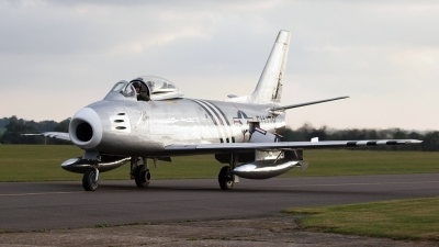 Photo ID 92059 by Claire Williamson. Private Private North American F 86A Sabre, G SABR