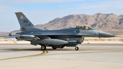 Photo ID 92044 by W.A.Kazior. USA Air Force General Dynamics F 16C Fighting Falcon, 90 0726