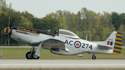 Photo ID 11721 by Christophe Haentjens. Private Private North American P 51D Mustang, N63476