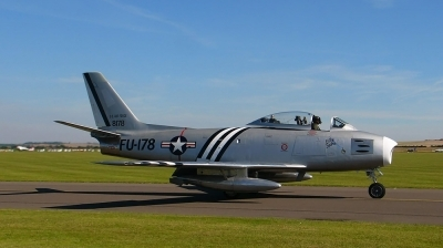 Photo ID 92223 by Chris Albutt. Private Private North American F 86A Sabre, G SABR