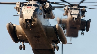 Photo ID 92219 by Jonathan Derden - Jetwash Images. USA Marines Sikorsky CH 53D Super Stallion, 156968