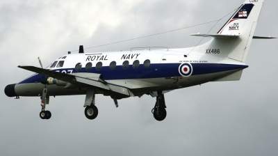 Photo ID 92430 by Arie van Groen. UK Navy Scottish Aviation HP 137 Jetstream T2, XX486