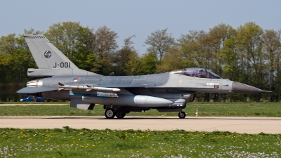 Photo ID 92462 by Jan Eenling. Netherlands Air Force General Dynamics F 16AM Fighting Falcon, J 001