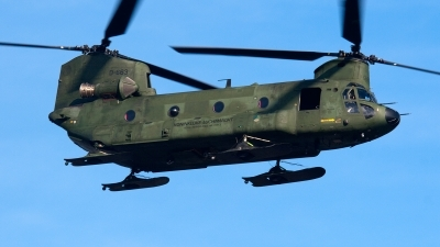 Photo ID 93049 by Jan Eenling. Netherlands Air Force Boeing Vertol CH 47D Chinook, D 663