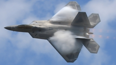 Photo ID 93299 by Joe Osciak. USA Air Force Lockheed Martin F 22A Raptor, 03 4056