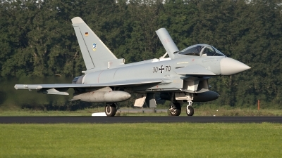 Photo ID 92819 by Niels Roman / VORTEX-images. Germany Air Force Eurofighter EF 2000 Typhoon S, 30 70