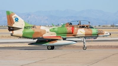 Photo ID 92926 by Jason Hyatt. Private ATSI Douglas TA 4J Skyhawk, N250WL