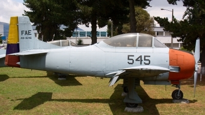 Photo ID 11843 by Eduardo Cardenas Suyo. Ecuador Air Force North American T 28A Trojan, 49 1545