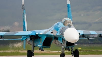 Photo ID 93105 by Andreas Zeitler - Flying-Wings. Ukraine Air Force Sukhoi Su 27, 56 BLUE