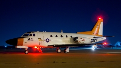 Photo ID 93146 by Nick Thomas. USA Navy Rockwell T 39G Sabreliner, 160055