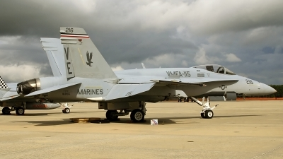 Photo ID 93221 by David F. Brown. USA Marines McDonnell Douglas F A 18A, 163155