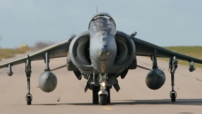 Photo ID 11872 by Jason Grant. UK Air Force British Aerospace Harrier GR7, ZD321