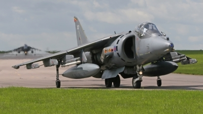 Photo ID 11874 by Jason Grant. UK Air Force British Aerospace Harrier GR7, ZD321