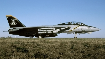 Photo ID 93239 by David F. Brown. USA Navy Grumman F 14B Tomcat, 163217