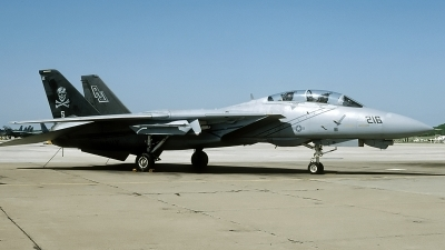 Photo ID 93587 by David F. Brown. USA Navy Grumman F 14A Tomcat, 161868