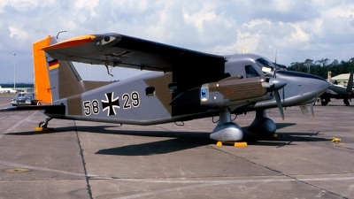 Photo ID 126861 by Robert W. Karlosky. Germany Air Force Dornier Do 28D 2 Skyservant, 58 29