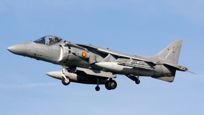 Photo ID 93787 by Jan Eenling. Spain Navy McDonnell Douglas AV 8B Harrier ll Plus, VA 1B 29