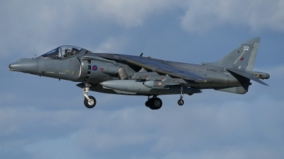 Photo ID 94056 by E de Wissel. UK Air Force British Aerospace Harrier GR9, ZD403