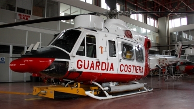Photo ID 94241 by Olli J.. Italy Guardia Costiera Agusta AB 412HP Grifone, MM81512
