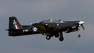 Photo ID 94257 by Sander Meijering. UK Air Force Short Tucano T1, ZF489