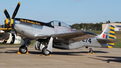 Photo ID 94108 by Joe Osciak. Private Private North American P 51D Mustang, N63476
