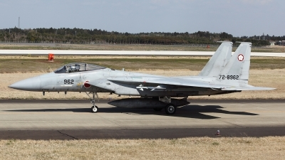 Photo ID 94187 by Carl Brent. Japan Air Force McDonnell Douglas F 15J Eagle, 72 8962