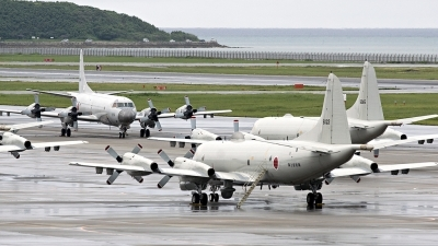 Photo ID 12009 by Alastair T. Gardiner. Japan Navy Lockheed P 3C Orion, 5022