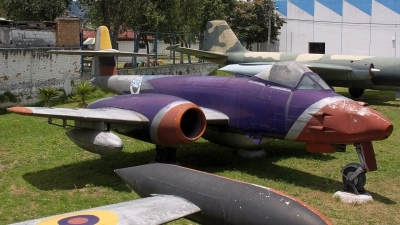 Photo ID 12011 by Eduardo Cardenas Suyo. Ecuador Air Force Gloster Meteor FR 9, FF 123