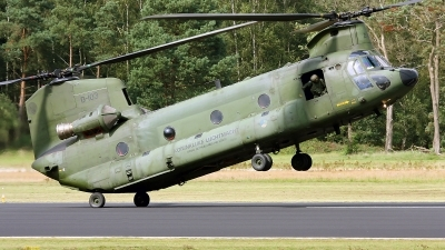 Photo ID 94339 by Robin Coenders / VORTEX-images. Netherlands Air Force Boeing Vertol CH 47D Chinook, D 103